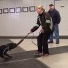 Sarah & Horse tug play
